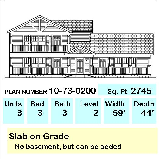 multifamily house plans